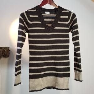 V-neck Sweater   Small   Brown   Fall Winter